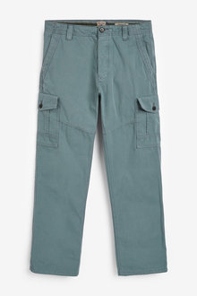 Next Laundered Cargo Trousers - 266348