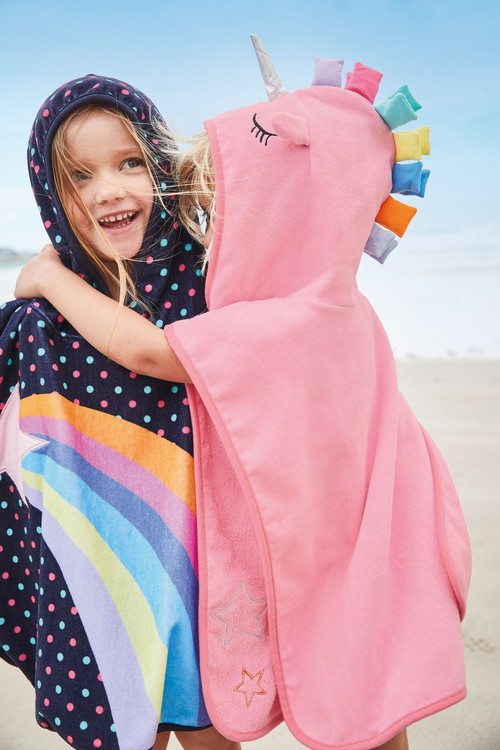 Next Towelling Poncho (9mths-10yrs)