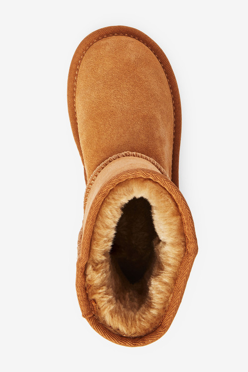 Next Water Repellent Suede Pull-On Boots (Older)