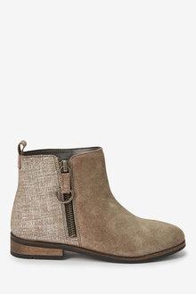 Next Zip Chelsea Boots (Older) - 266363