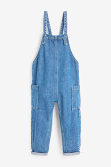 Next Slouchy Romper Dungarees (3-16yrs) - 266379
