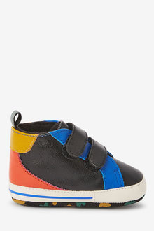 Next Double Strap Colourblock Pram Boots (0-24mths) - 266420