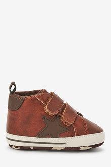 Next Double Strap Star Pram Boots (0-24mths) - 266428