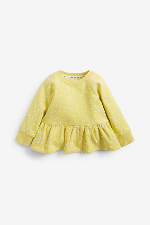 Next Peplum Sweatshirt (3mths-7yrs)