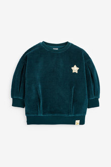 Next Velour Sweatshirt (3mths-7yrs) - 266460