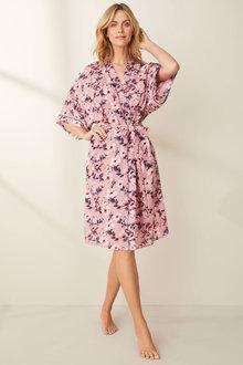 Mia Lucce Cotton Kimono Robe - 266465