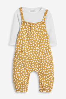 Next Spot Dungaree And Bodysuit Set (0mths-2yrs) - 266469