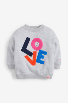 Next Love Boucle Sweatshirt (3mths-8yrs) - 266479