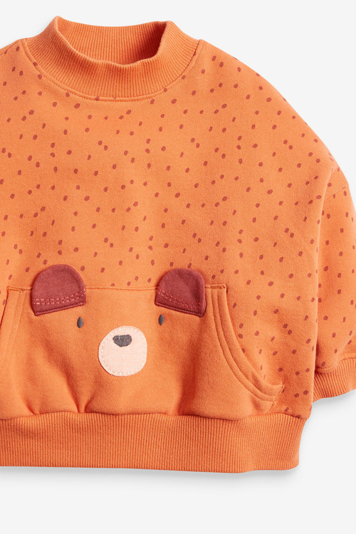 Next Bear Character Sweatshirt (3mths-7yrs)