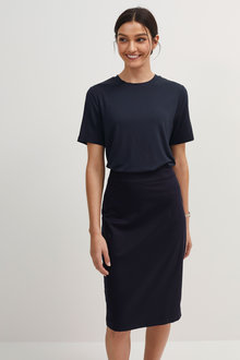 Next Tailored Fit Pencil Skirt - 266516