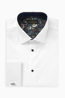 Next Trim Detail Signature Shirt-Slim Fit Double Cuff - 266529