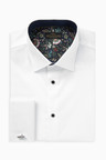 Next Trim Detail Signature Shirt-Slim Fit Double Cuff