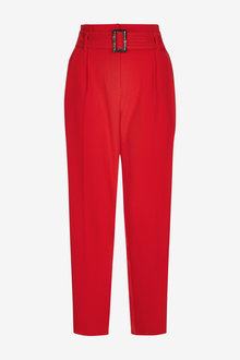 Next Belted Taper Trousers - 266532