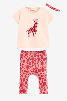 Next Giraffe 3 Piece Set (0mths-2yrs) - 266533