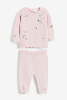 Next Embroidered Knitted Set (0mths-2yrs) - 266543