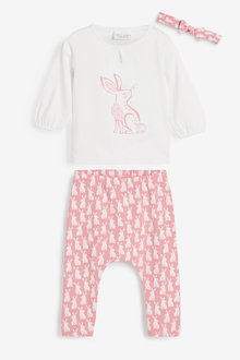 Next 3 Piece Bunny Set (0mths-3yrs) - 266561