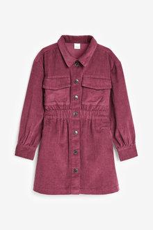 Next Cord Shirt Dress (3-16yrs) - 266569