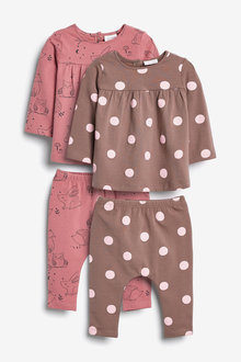 Next 4 Piece Jersey Character/Spot Set (0mths-2yrs) - 266574