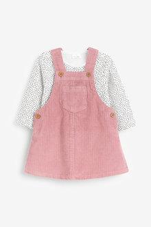 Next Cord Dress And Bodysuit (0mths-2yrs) - 266595