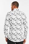 Next Slim Fit Floral Shirt