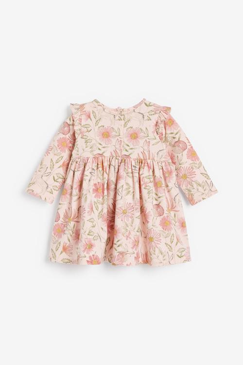 Next Floral Jersey Dress (0mths-2yrs)