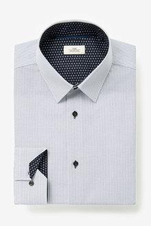 Next Geometric Print Shirt - 266627
