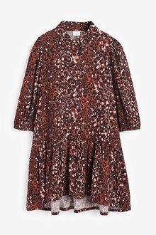 Next Printed Shirt Dress (3-16yrs) - 266633