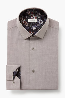 Next Regular Fit Single Cuff Trim Detail Shirt - 266645