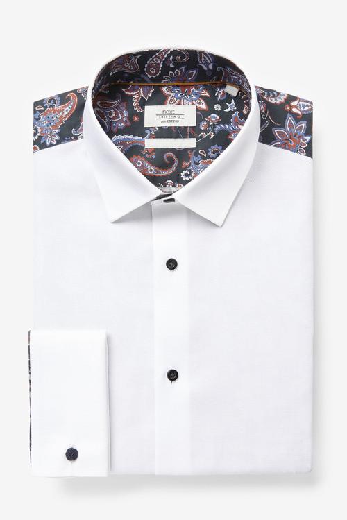 Next Printed Occasion Shirt