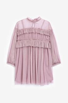 Next Ruffle Dress (3-16yrs) - 266668