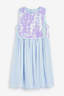 Next Sequin Dress (3-16yrs) - 266675