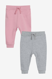 Next 2 Pack Joggers (0mths-2yrs) - 266682