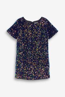 Next Sequin Dress (3-16yrs) - 266692