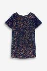 Next Sequin Dress (3-16yrs)