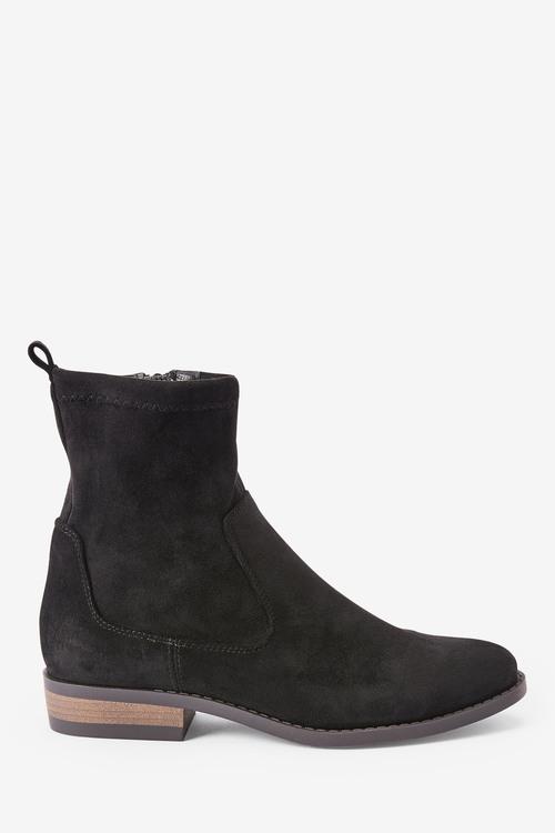 Next Forever Comfort Flat Sock Boots-Regular