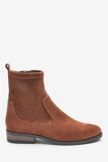 Next Forever Comfort Flat Sock Boots-Regular - 266717