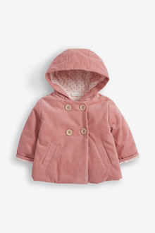 Next Corded Hooded Jacket With Fleece Lining (0mths-2yrs) - 266726