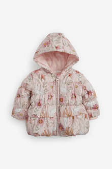Next Floral Character Print Hooded Coat (0mths-2yrs) - 266729