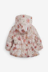 Next Floral Character Print Hooded Coat (0mths-2yrs)