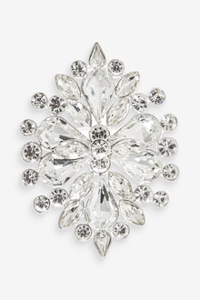 Next Crystal Effect Statement Brooch - 266762