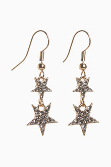 Next Pave Star Drop Earrings - 266783