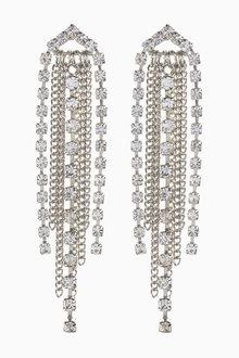 Next Sparkle Waterfall Earrings - 266797