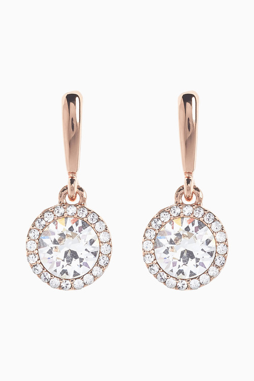 Next Sparkle Drop Earrings With Swarovski Crystals
