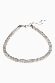 Next Sparkle Tube Necklace - 266820