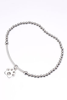 Next Crystal Effect Sparkle Paw Bracelet - 266860
