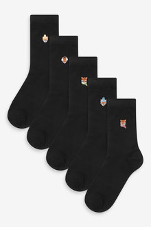 Next Motif Ankle Socks Five Pack - 266902