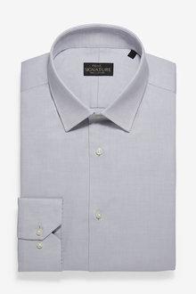 Next Signature Textured Shirt-Slim Fit Single Cuff - 266904