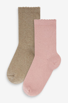 Next Cashmere Touch Socks Two Pack - 266906
