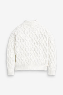 Next Chunky Cable Jumper (3-16yrs) - 266916