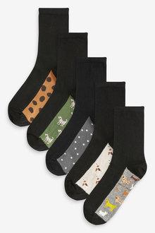 Next Footbed Ankle Socks 5 Pack - 266928
